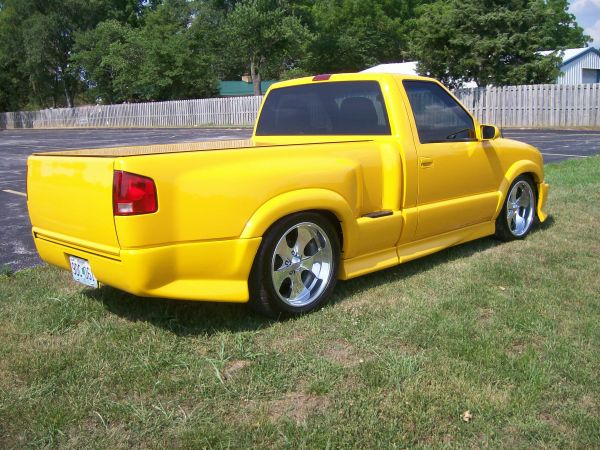 S10 shaved tailgate for sale